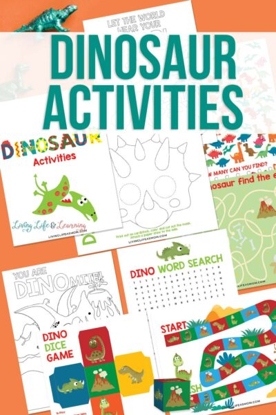 Fun Dinosaur Activities Printable