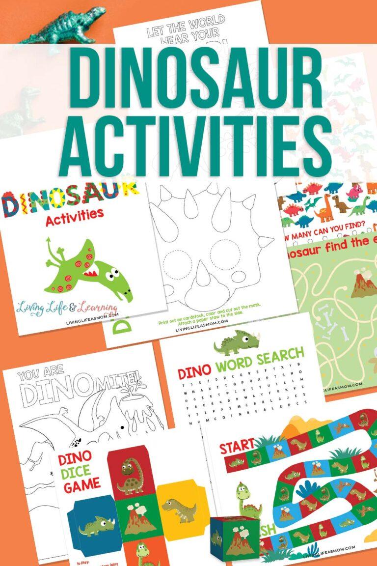 Fun Dinosaur Activities Printable