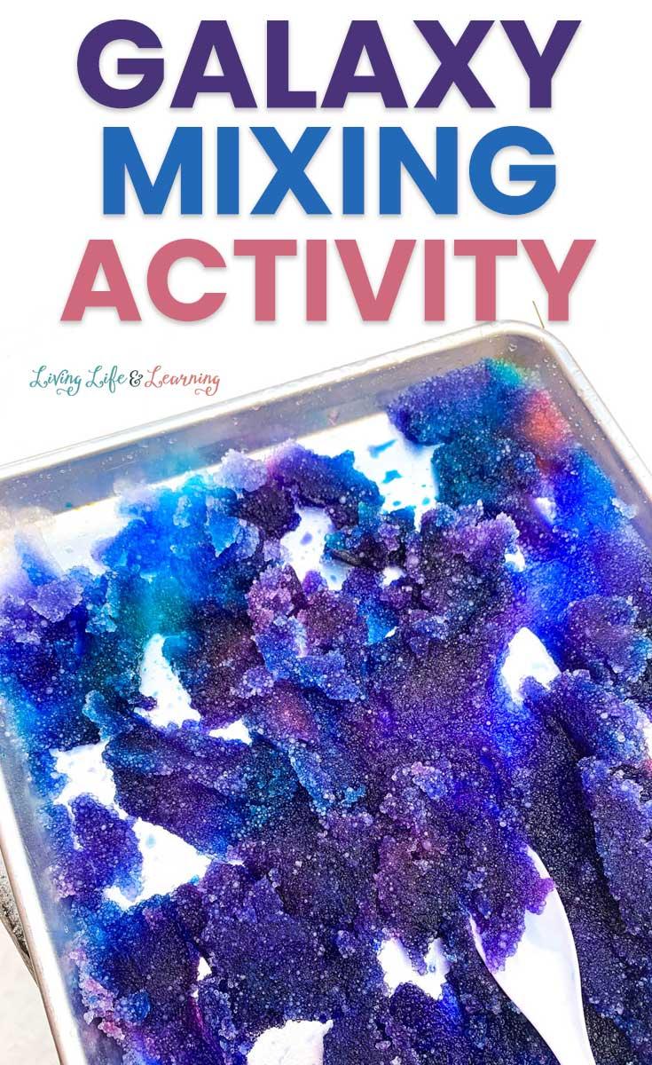 Galaxy Snow Mixing Activity