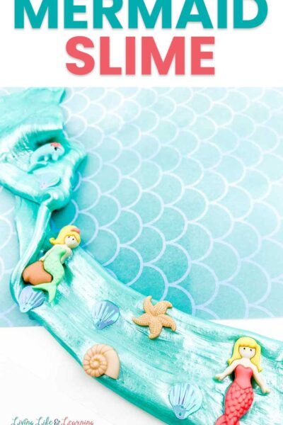 Mermaid slime recipe