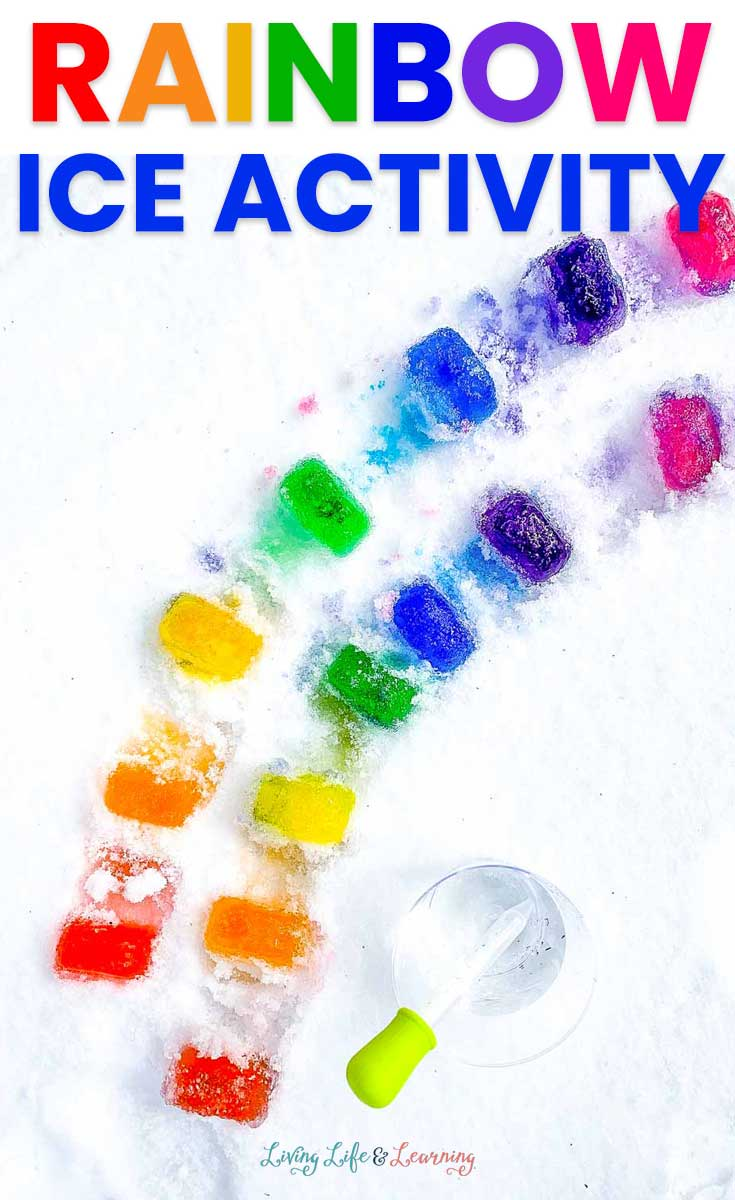 fun rainbow ice activity