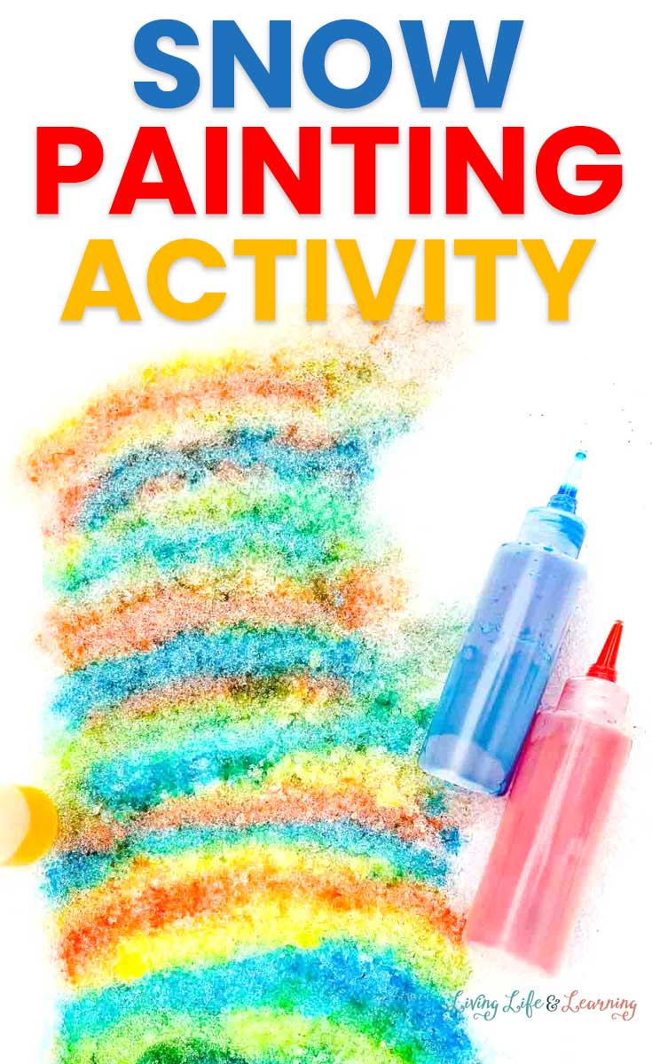 Simple Snow Painting Activity
