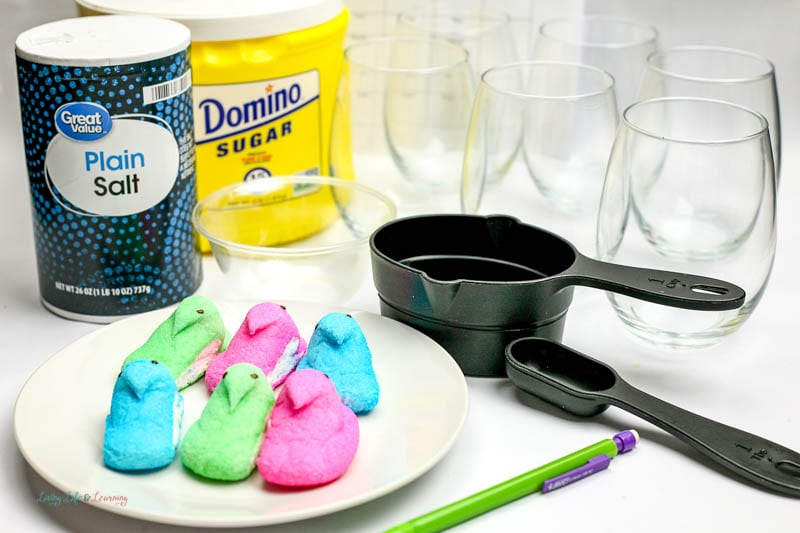 peeps experiment for kids