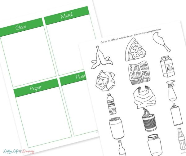 Sort Your Recycling Worksheets