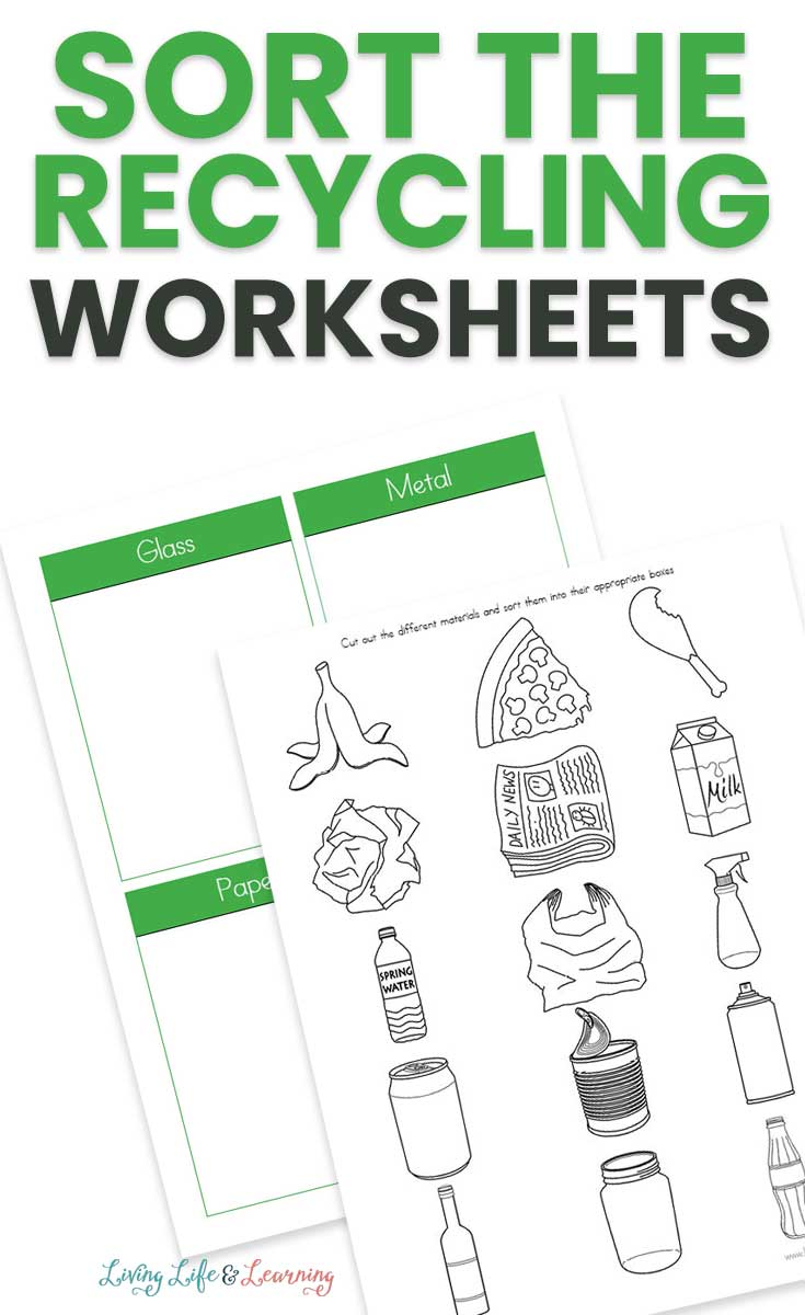 Sort Your Recycling Worksheets - 36+ Recycling Sorting Worksheets For Kindergarten Background