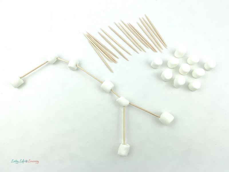 marshmallow constellation activity