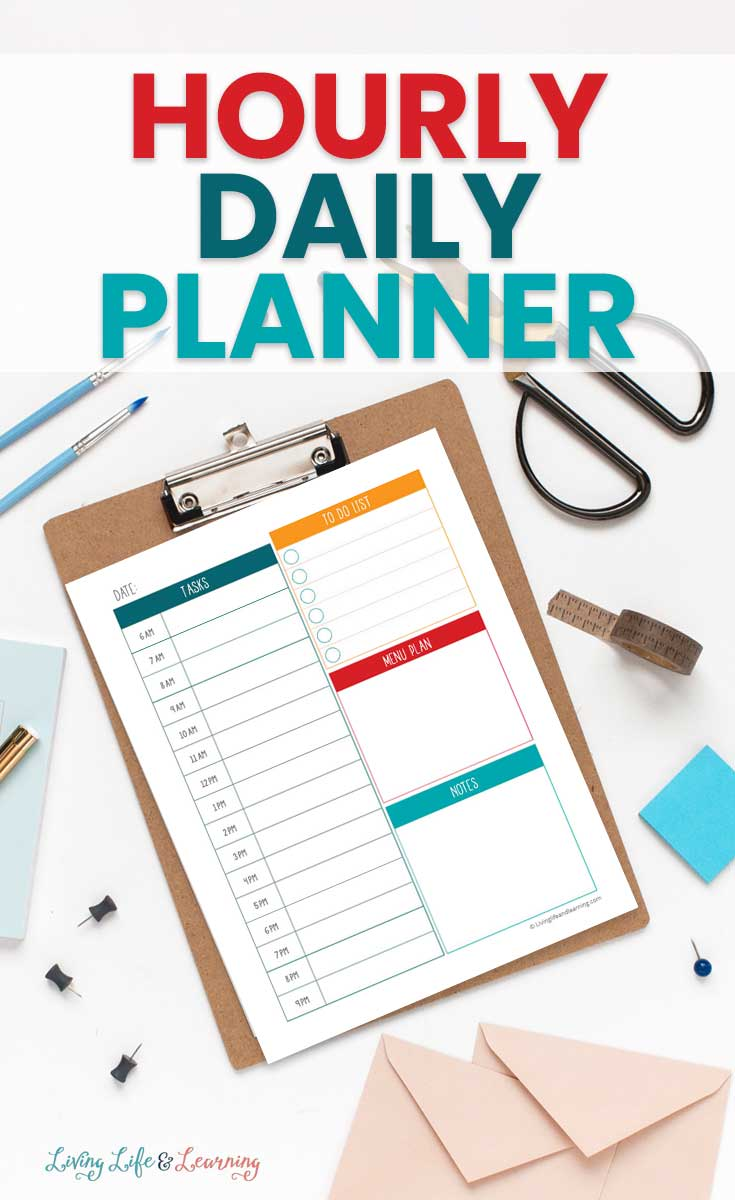 Printable Hourly Daily Planner