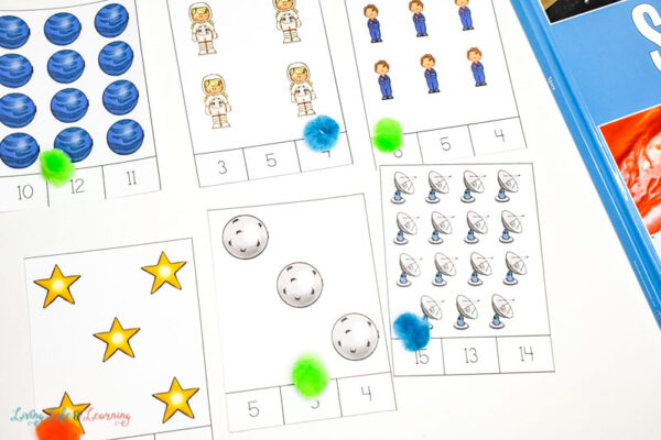 Space counting cards