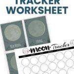 moon tracker worksheet