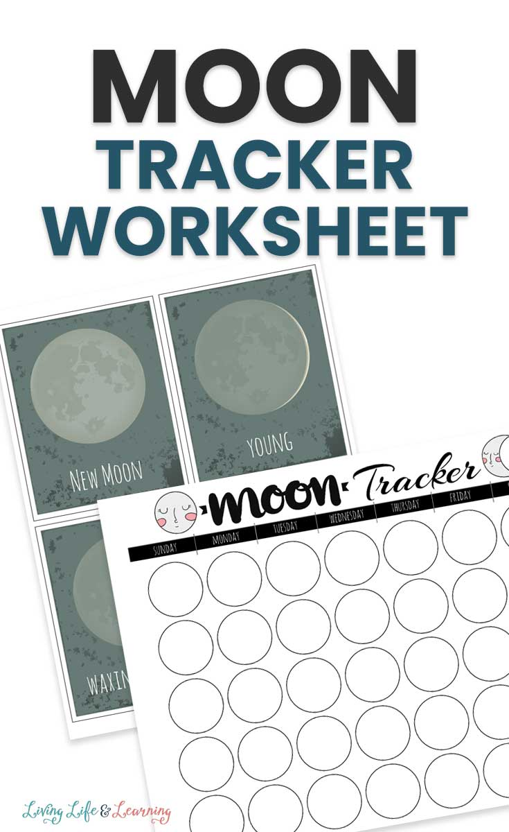 moon tracker worksheet