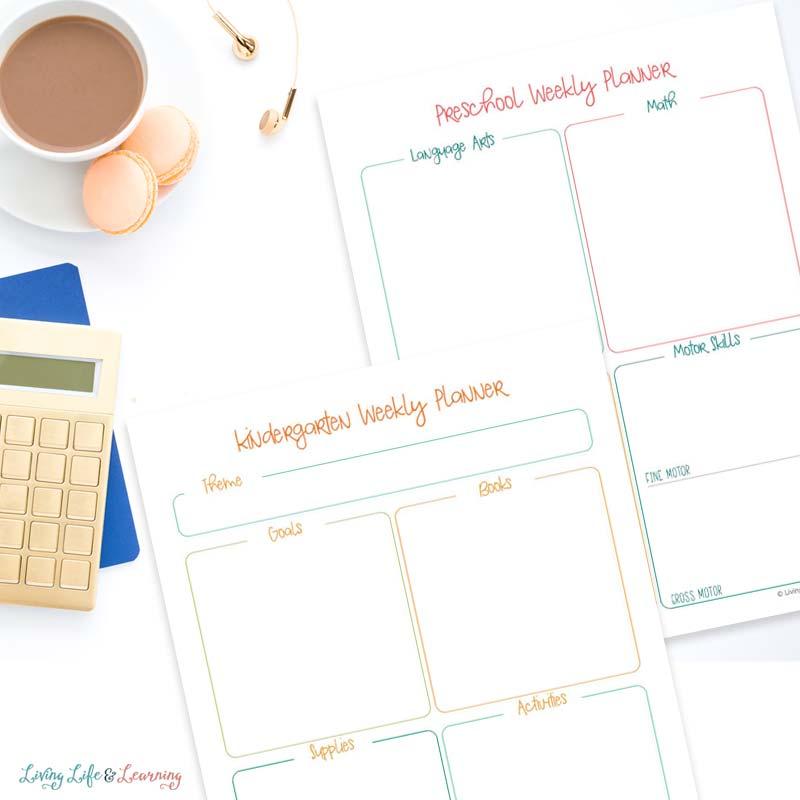 homeschooling planner printable