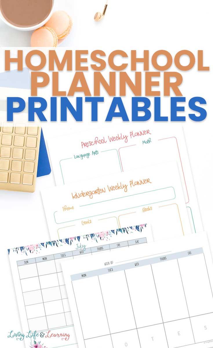 Homeschool Planner Printables