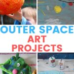 outer space art projects