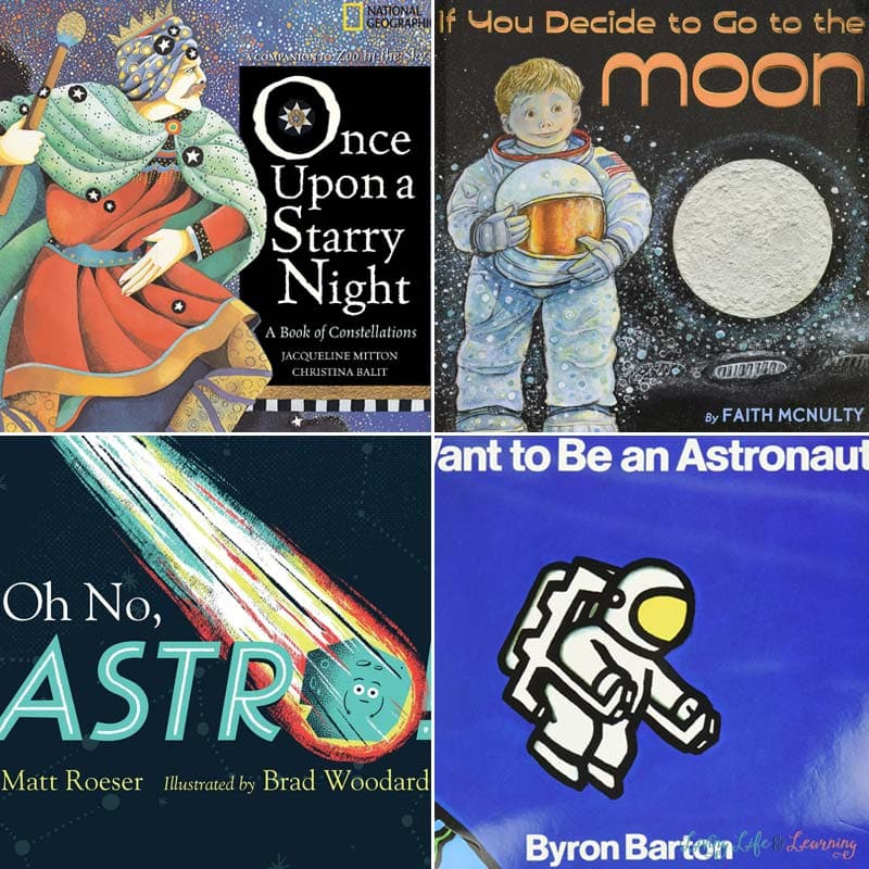 Outer Space Books for Preschoolers