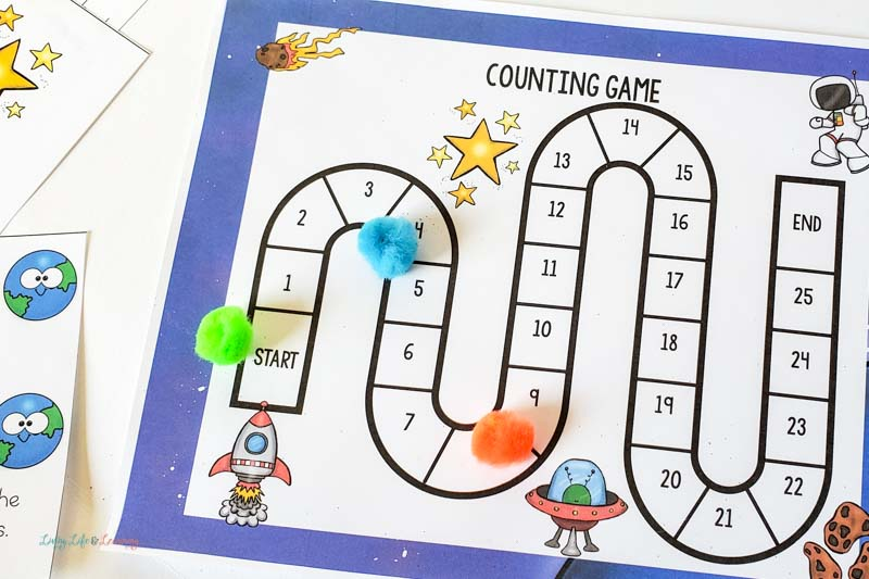 space counting game