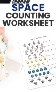 Space Counting Worksheet
