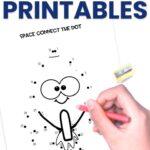 space dot to dot printables