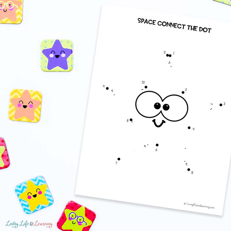 space connect the dots