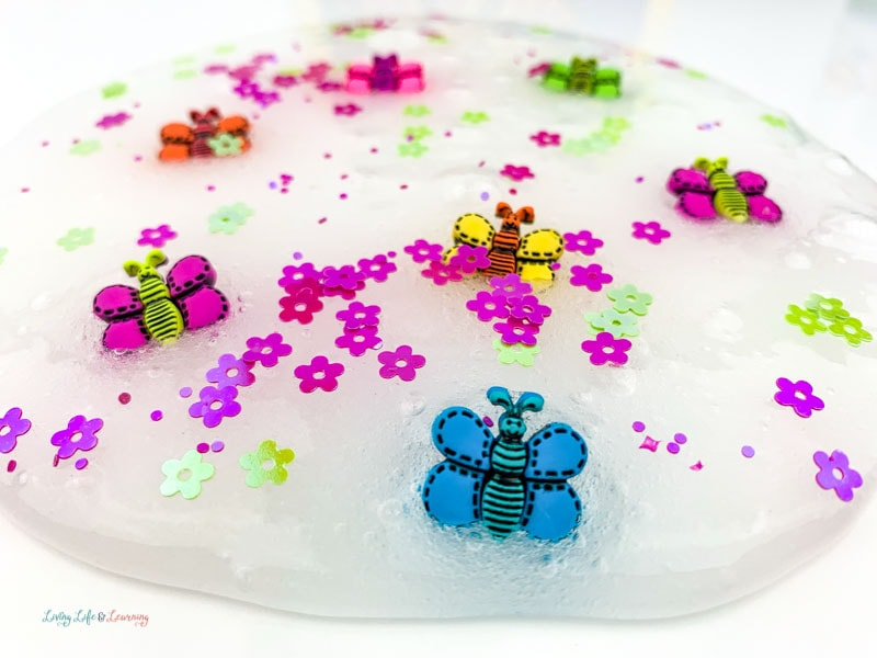 simple butterfly slime recipe