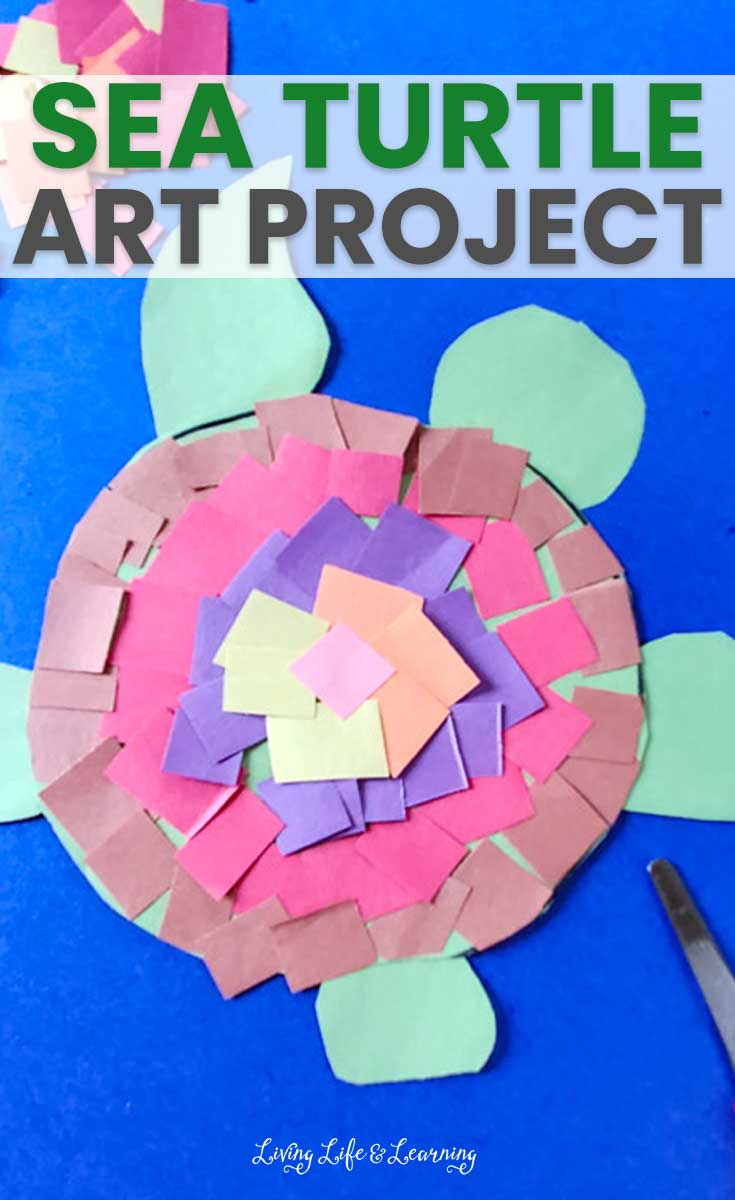 Sea Turtle Art Project