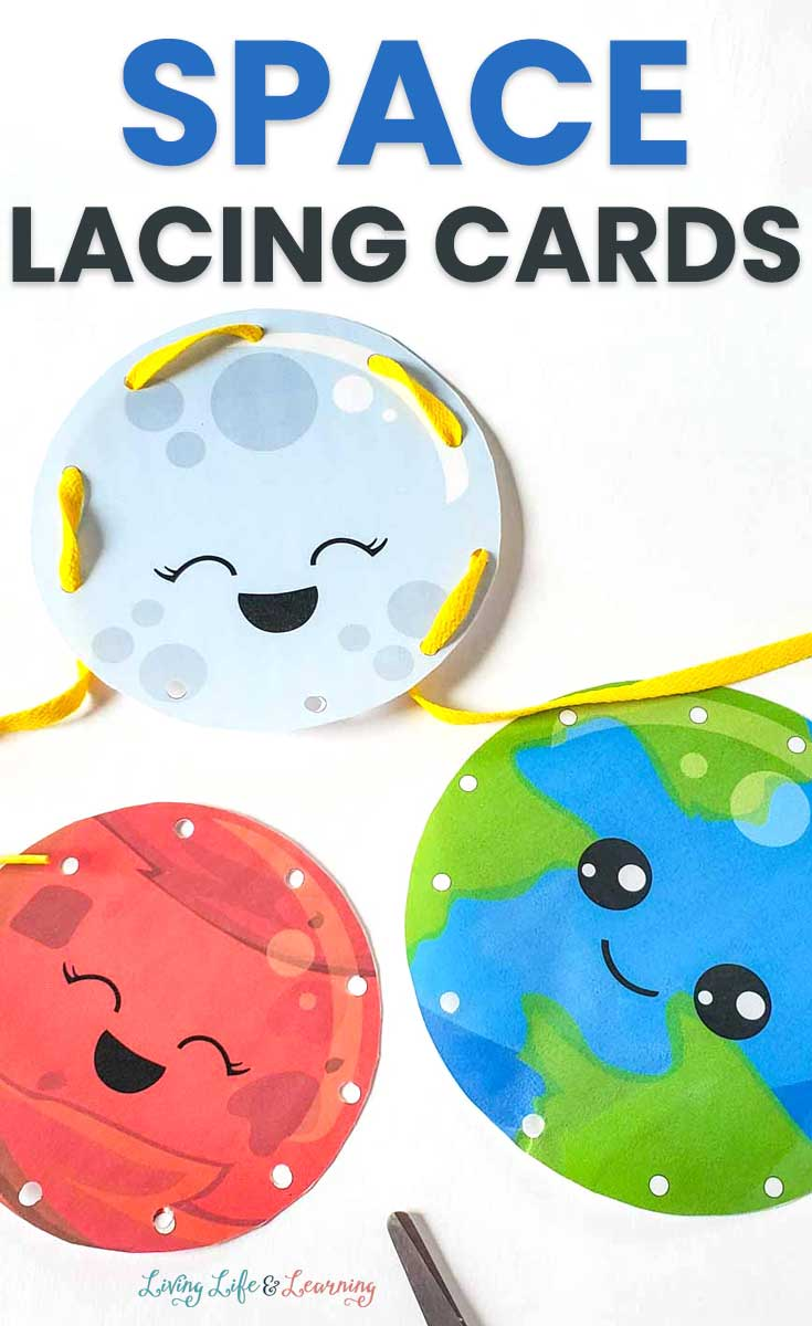 Space Lacing Cards