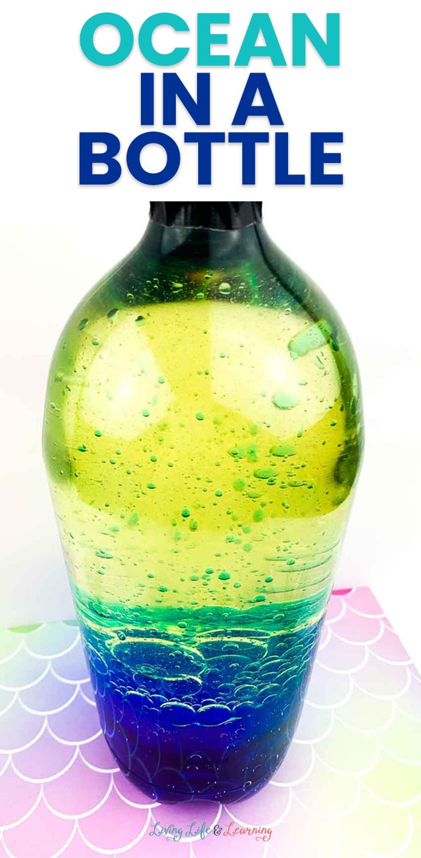 Ocean in a Bottle Experiment