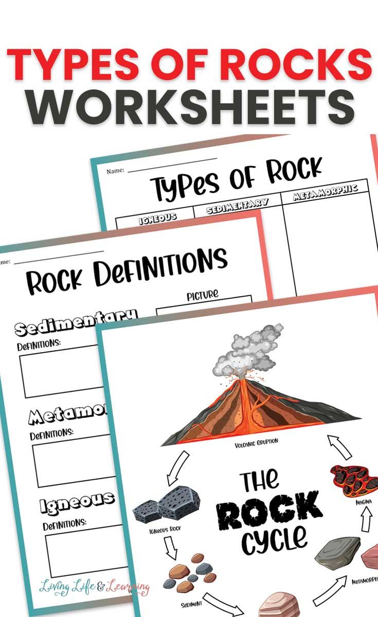Types of Rocks Worksheets