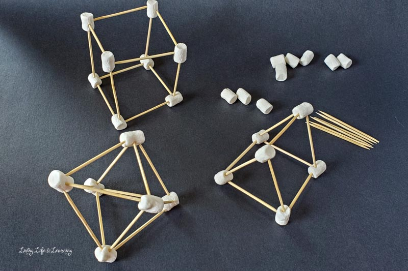 3D stem shapes for kids