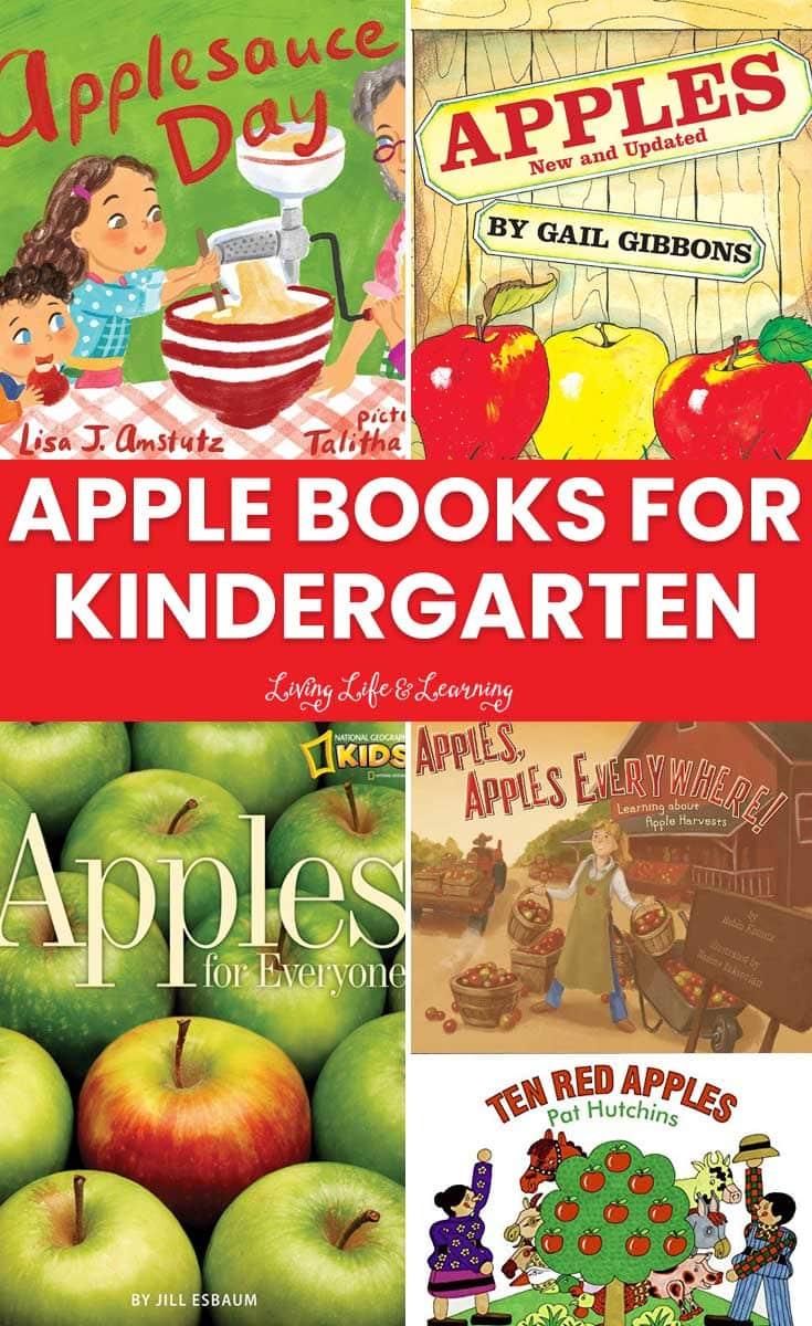 Best Books About Apples for Kindergarten