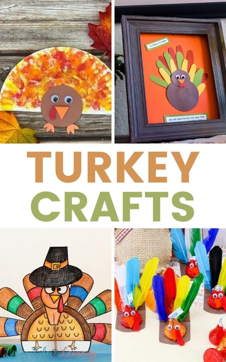 Fun Turkey Crafts for Kids