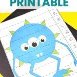 Monster Math Worksheets for Preschool